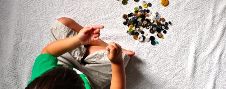 DIY Fun: Stringing Buttons