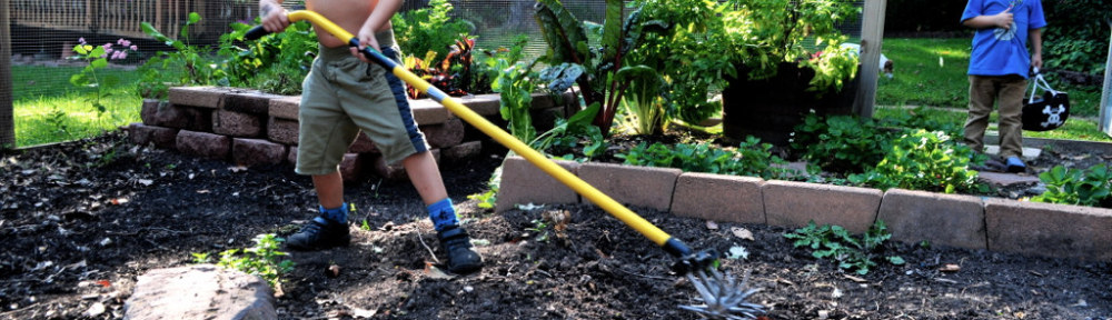 Introducing Kids to Gardening
