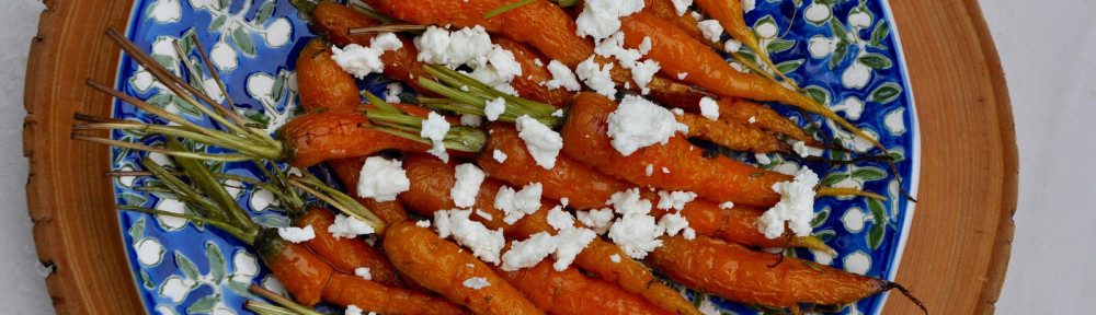 From Garden to Table: Roasted Rosemary Carrots with Sheep's Milk Feta